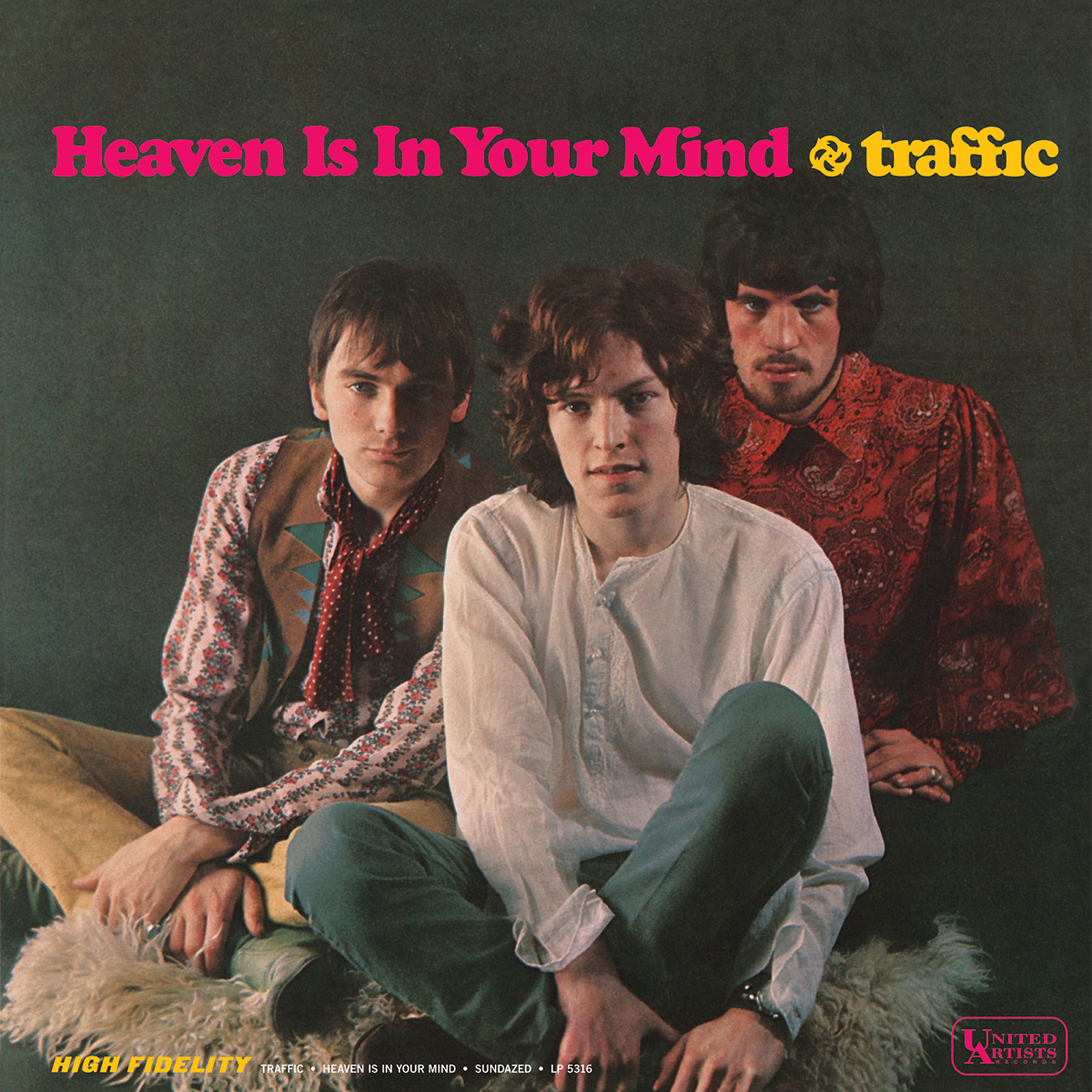 Traffic - Heaven Is In Your Mind/Mr. Fantasy MONO EDITION LP