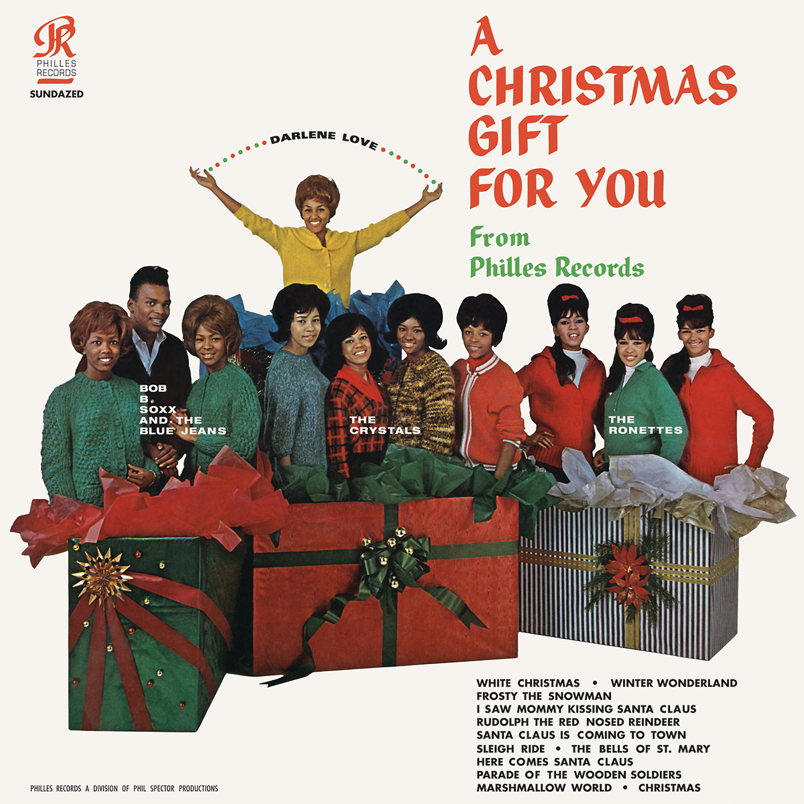 Various Artists - A Christmas Gift For You - Phil Spector and Various Artists - A Christmas Gift For You LP
