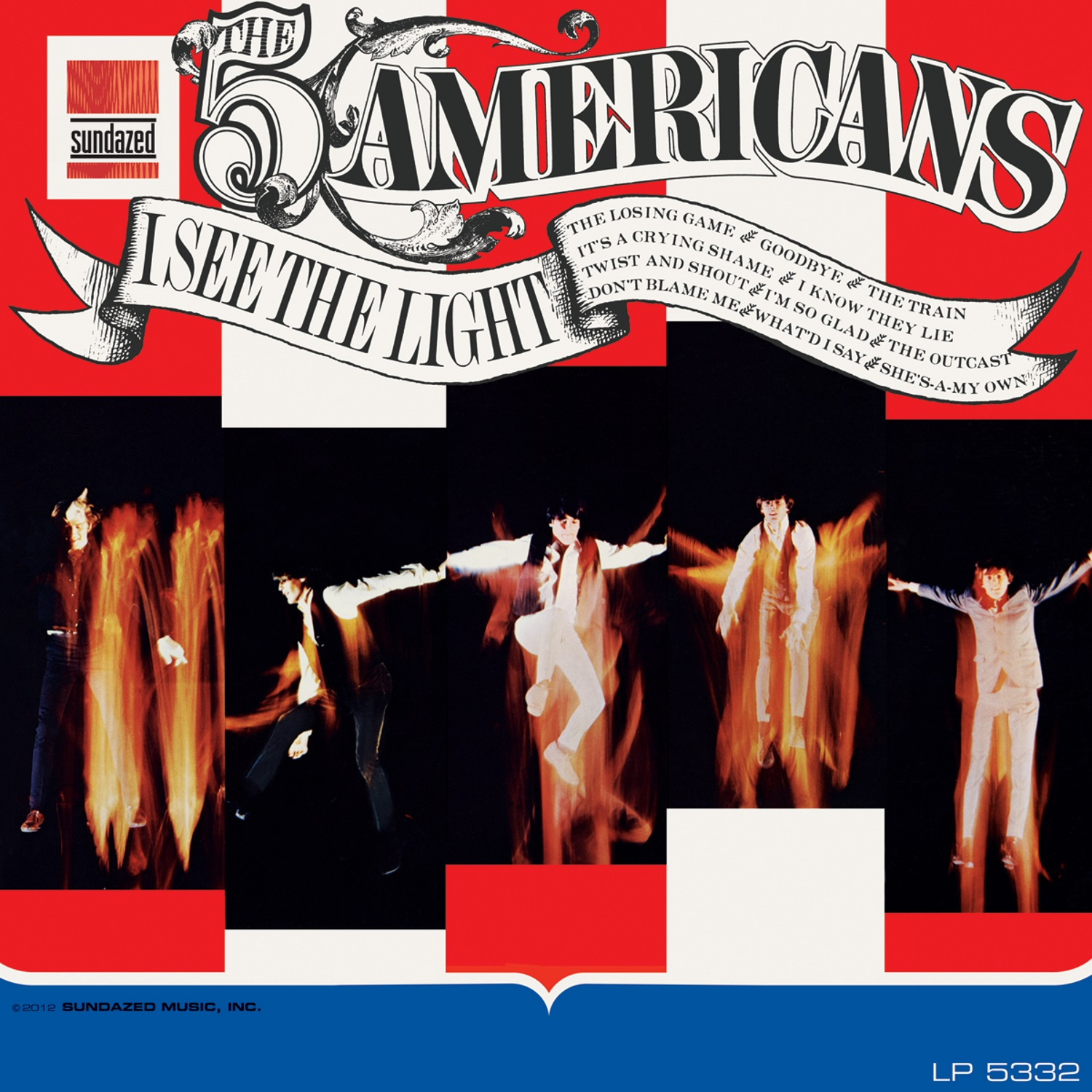 Five Americans, The - I See the Light -LIMITED EDITION MONO- LP