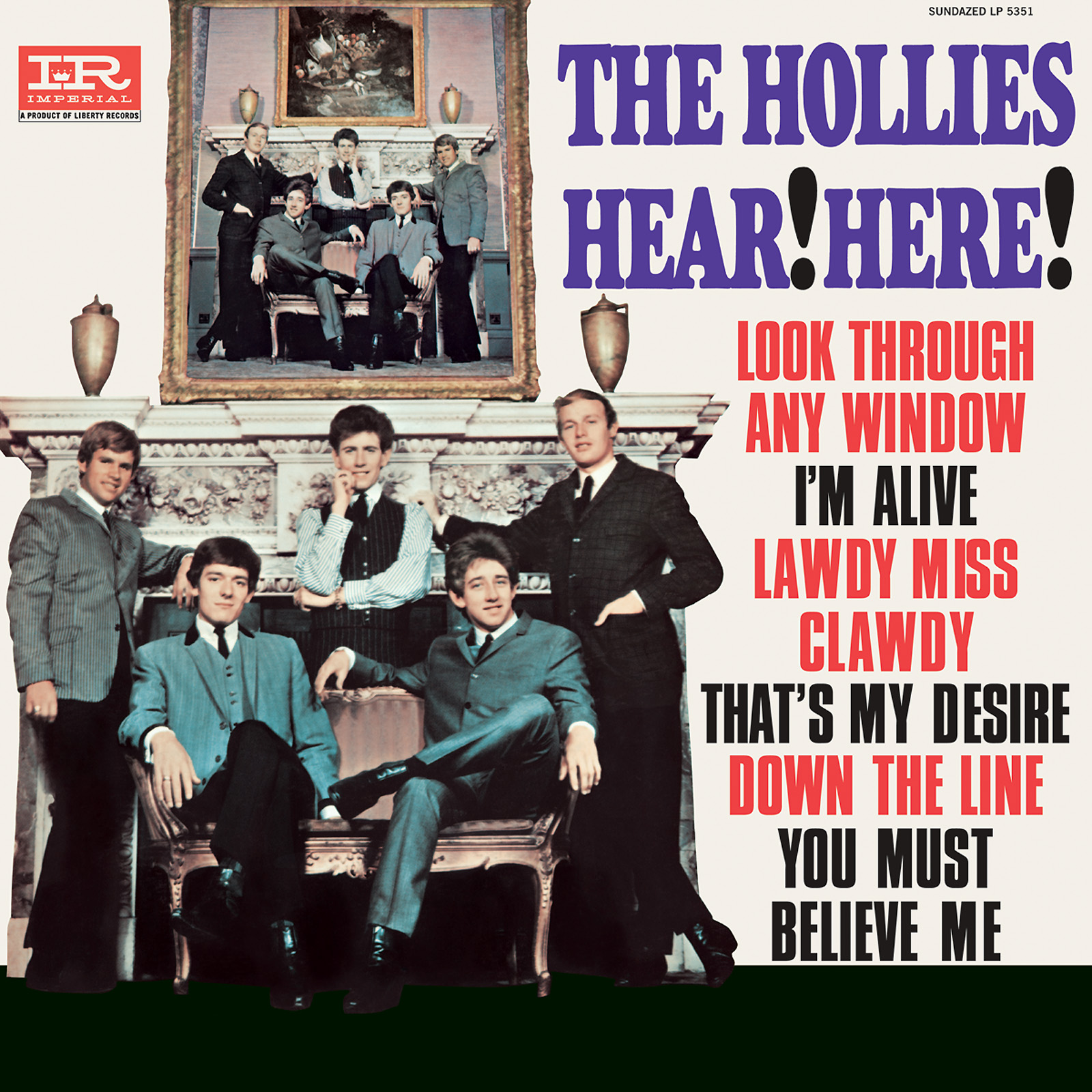 Hollies, The - Hear! Here! MONO Edition LP