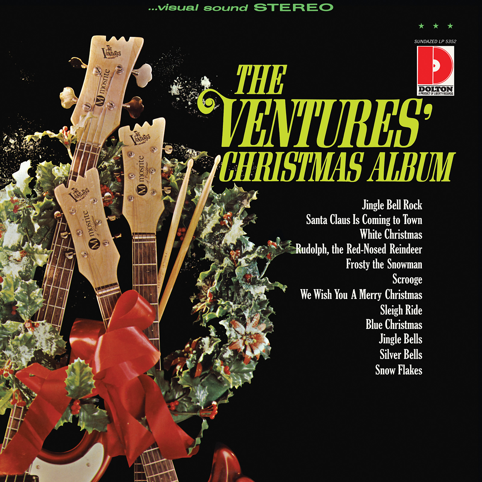 Ventures, The - The Ventures' Christmas Album LP