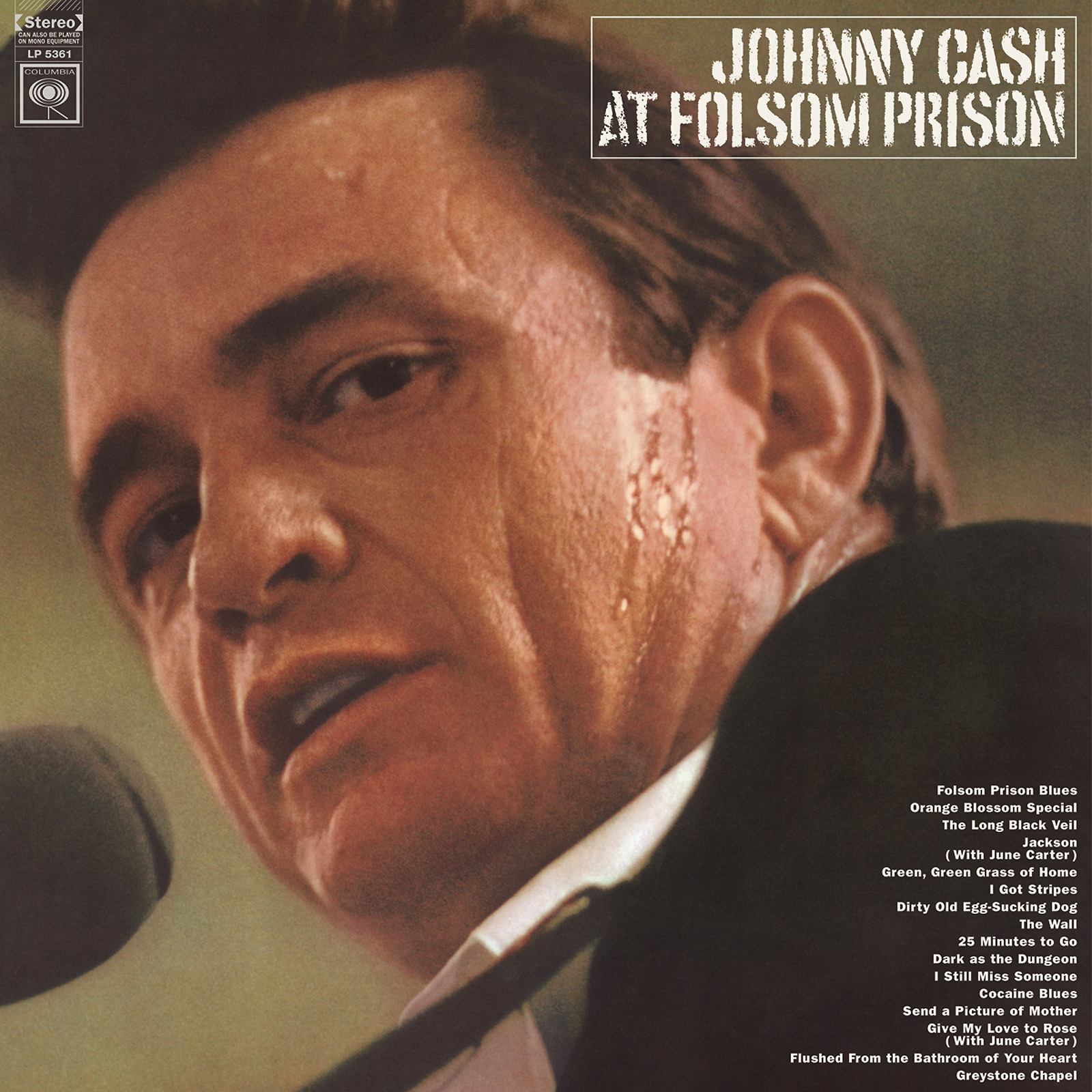 Cash, Johnny - Johnny Cash at Folsom Prison LP