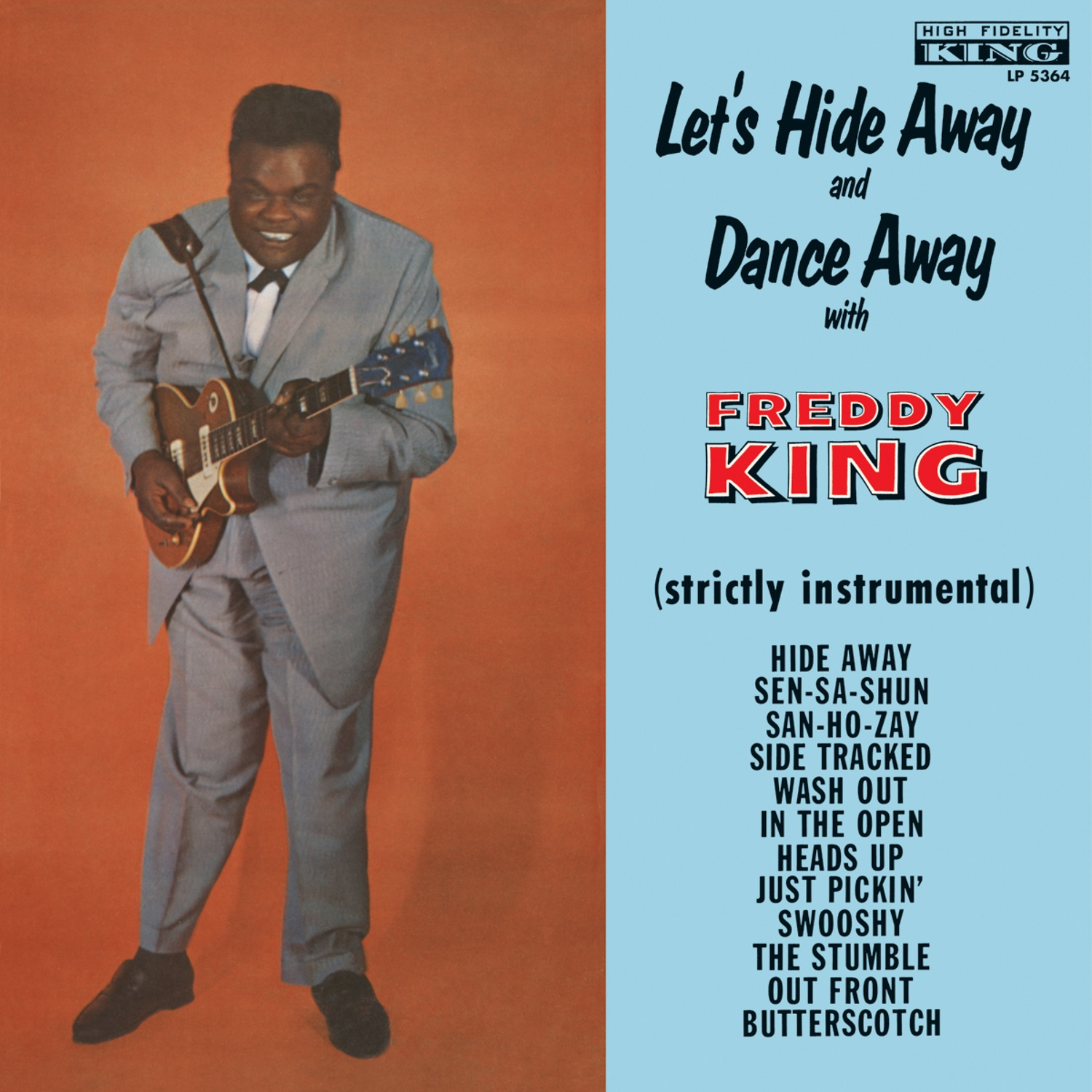 King, Freddy (Freddie) - Let's Hide Away and Dance Away with Freddy King - LP - COLORED VINYL