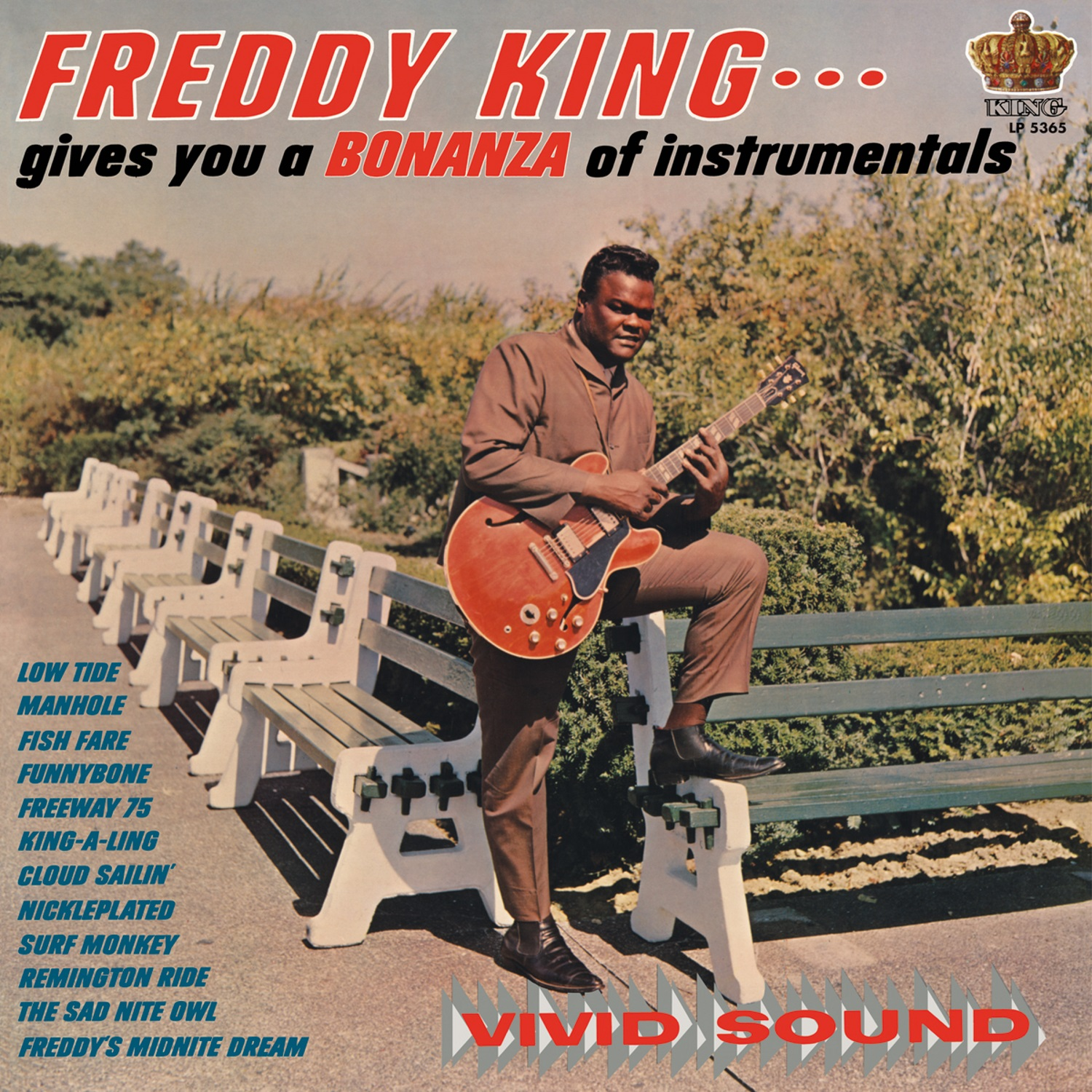King, Freddy (Freddie) - Freddy King Gives You a Bonanza of Instrumentals