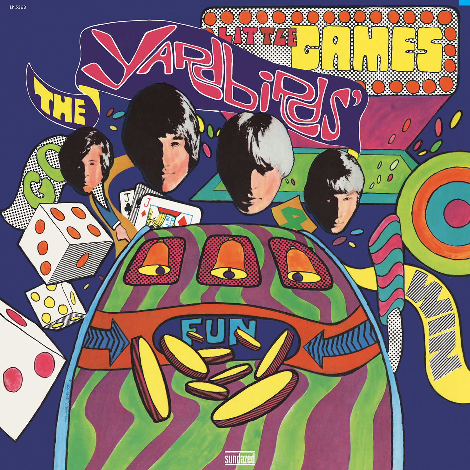 Yardbirds, The - Little Games Mono Edition LP