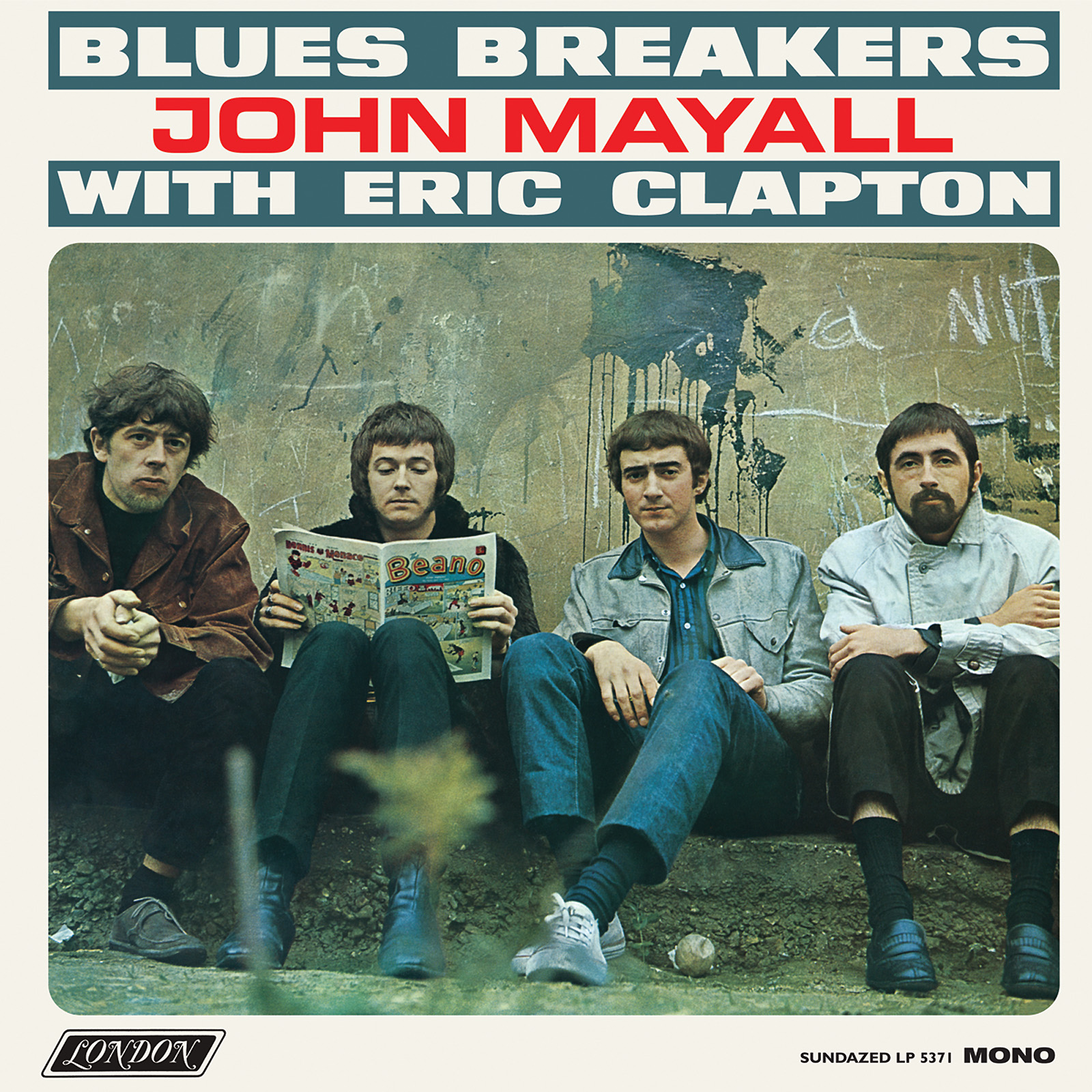 Mayall, John and the Blues Breakers - Blues Breakers with Eric Clapton MONO Edition LP