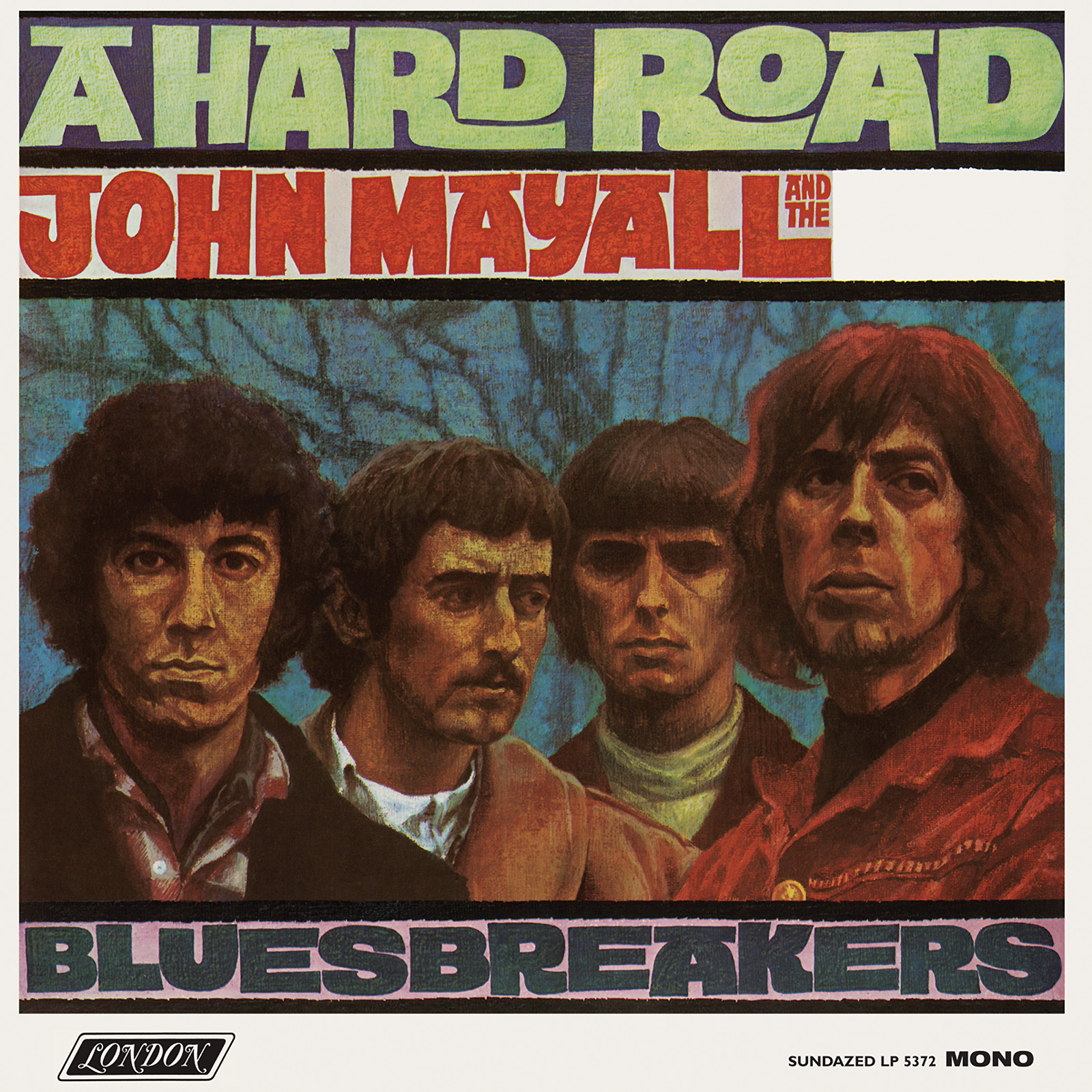 Mayall, John and the Blues Breakers - A Hard Road - MONO LP - WHITE VINYL