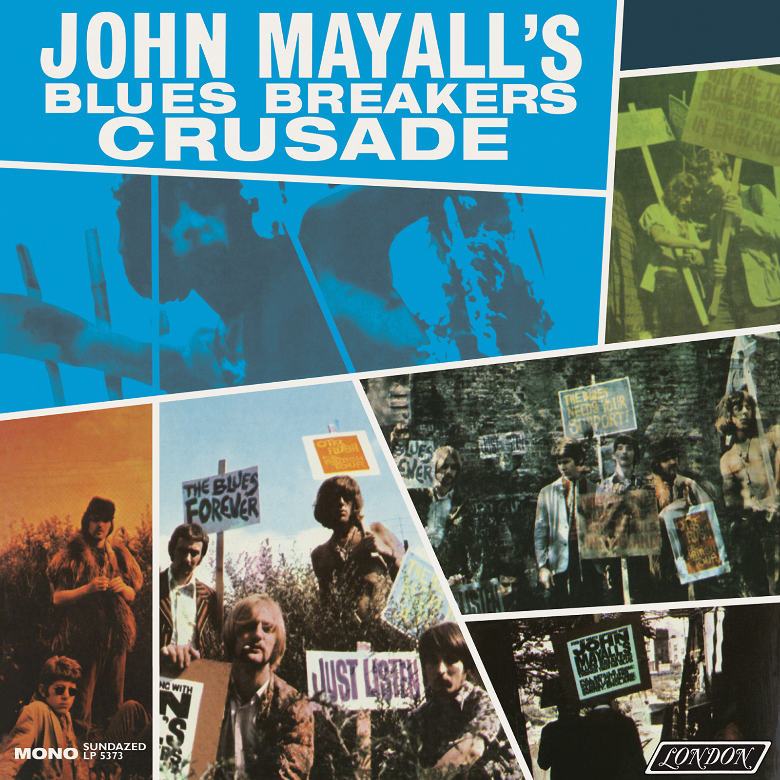 Mayall, John and the Blues Breakers - Crusade MONO Edition LP