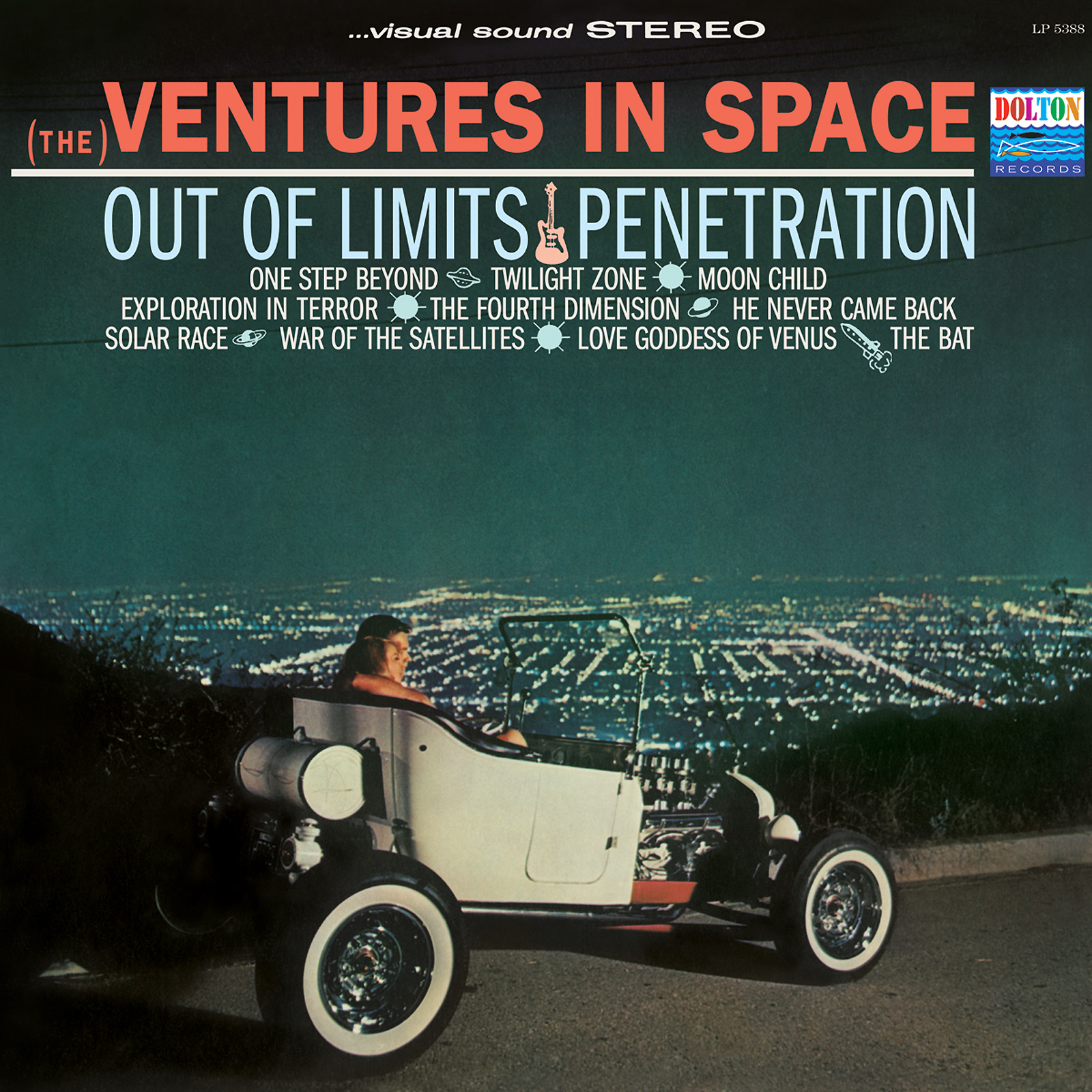 Ventures, The - Ventures in Space LIMITED EDITION Colored Vinyl LP