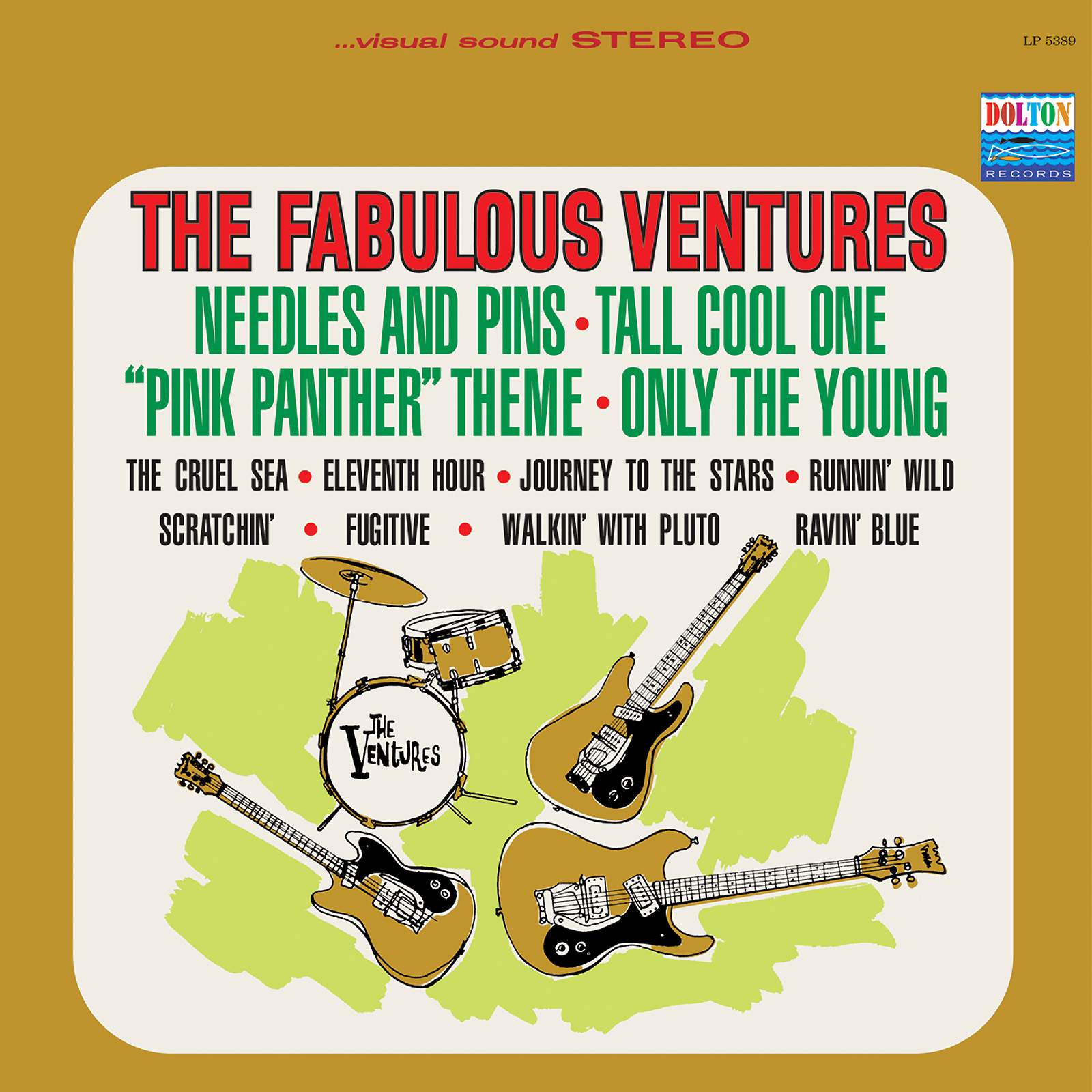 Ventures, The - The Fabulous Ventures LIMITED EDITION Colored Vinyl LP