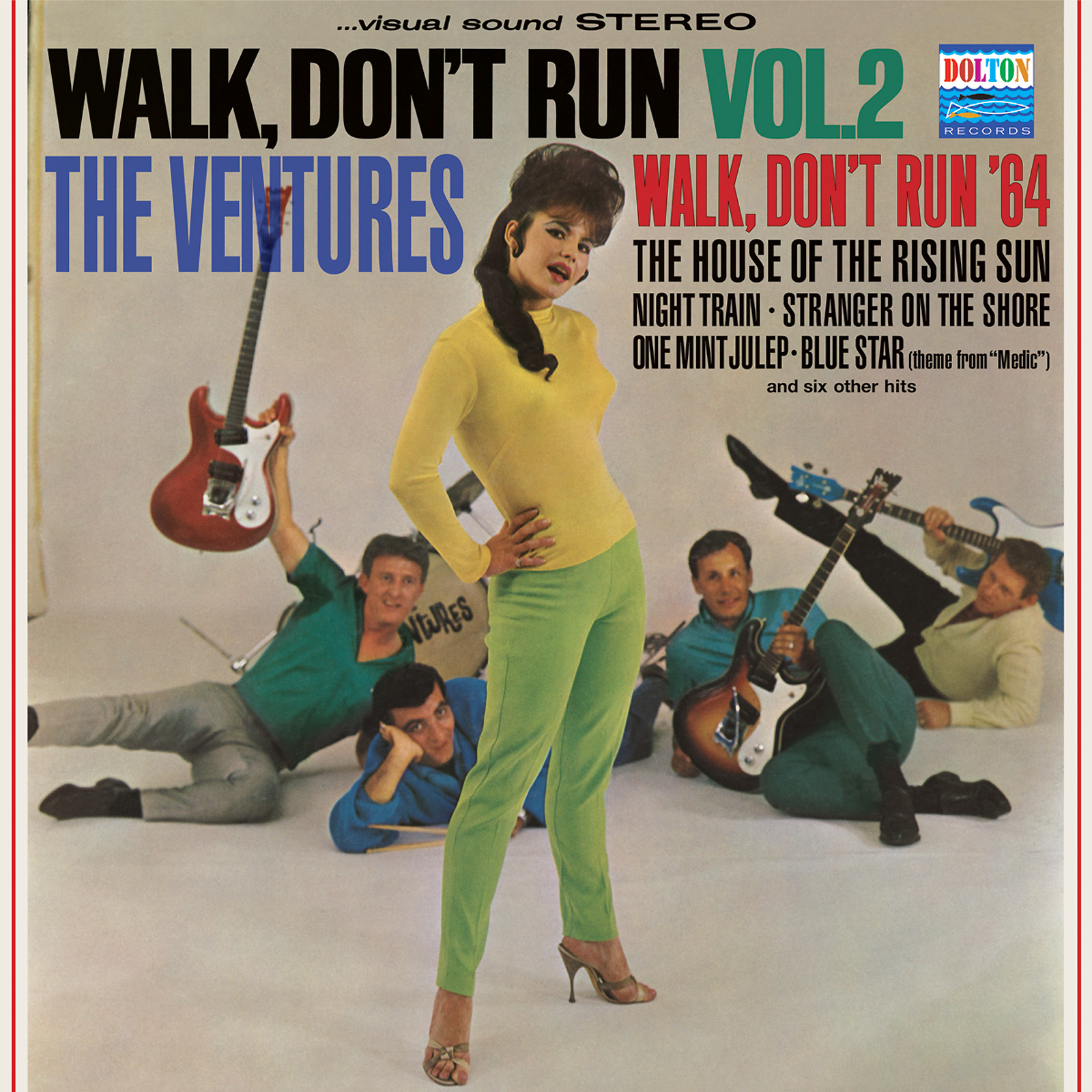 Ventures, The - Walk, Dont Run Vol. 2 LIMITED EDITION Colored Vinyl LP