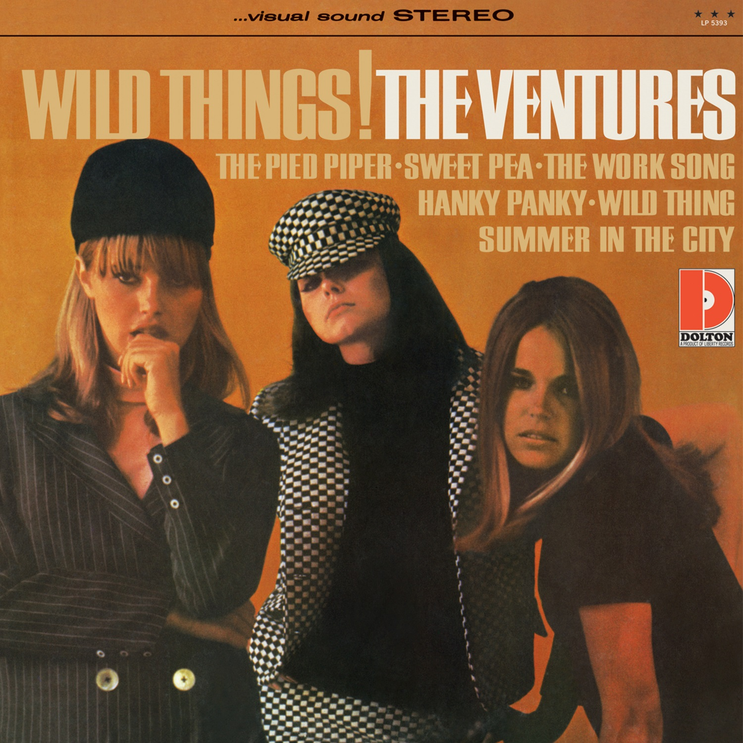 Ventures, The - Wild Things! LIMITED EDITION Colored Vinyl LP