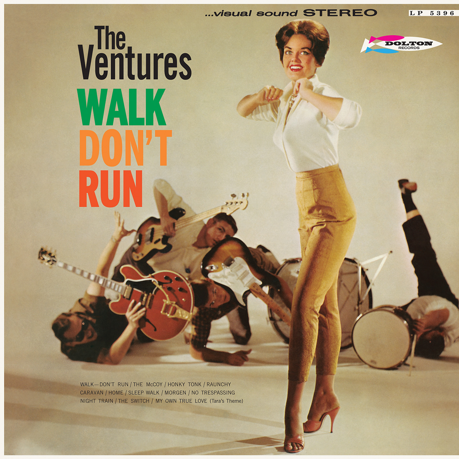 Ventures, The - Walk, Dont Run LIMITED EDITION Colored Vinyl LP