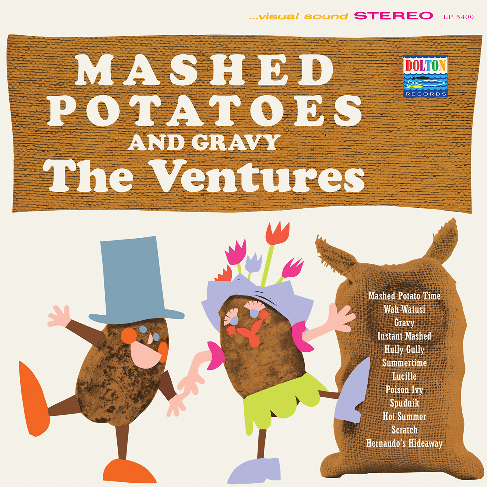 Ventures, The - Mashed Potatoes and Gravy LIMITED EDITION Colored Vinyl LP