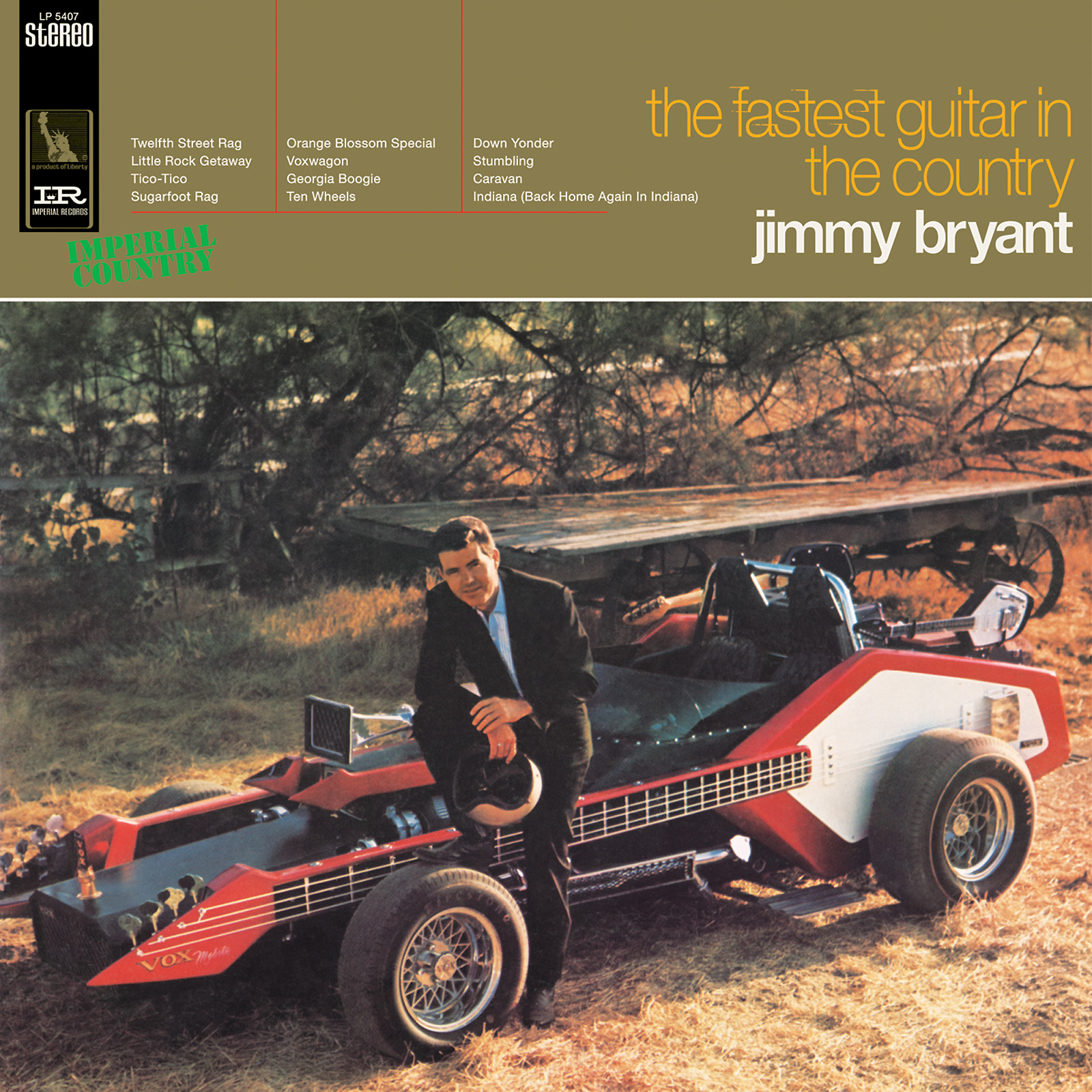 Bryant, Jimmy - The Fastest Guitar in the Country LP
