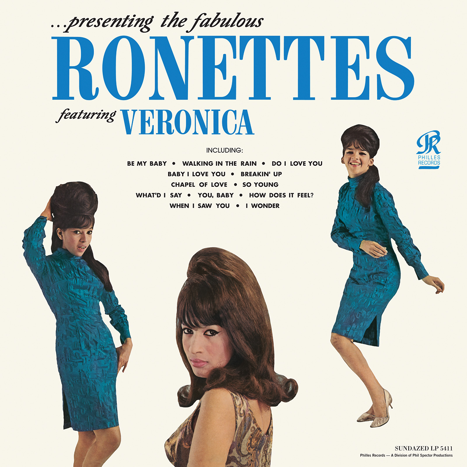Ronettes, The - Presenting the Fabulous Ronettes featuring Veronica MONO EDITION LP