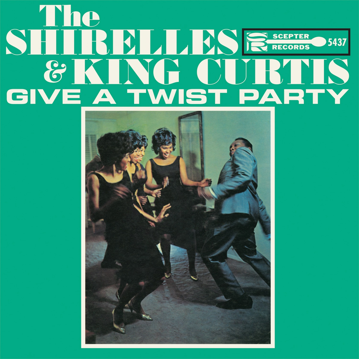 Shirelles, The - The Shirelles and King Curtis Give a Twist Party LP