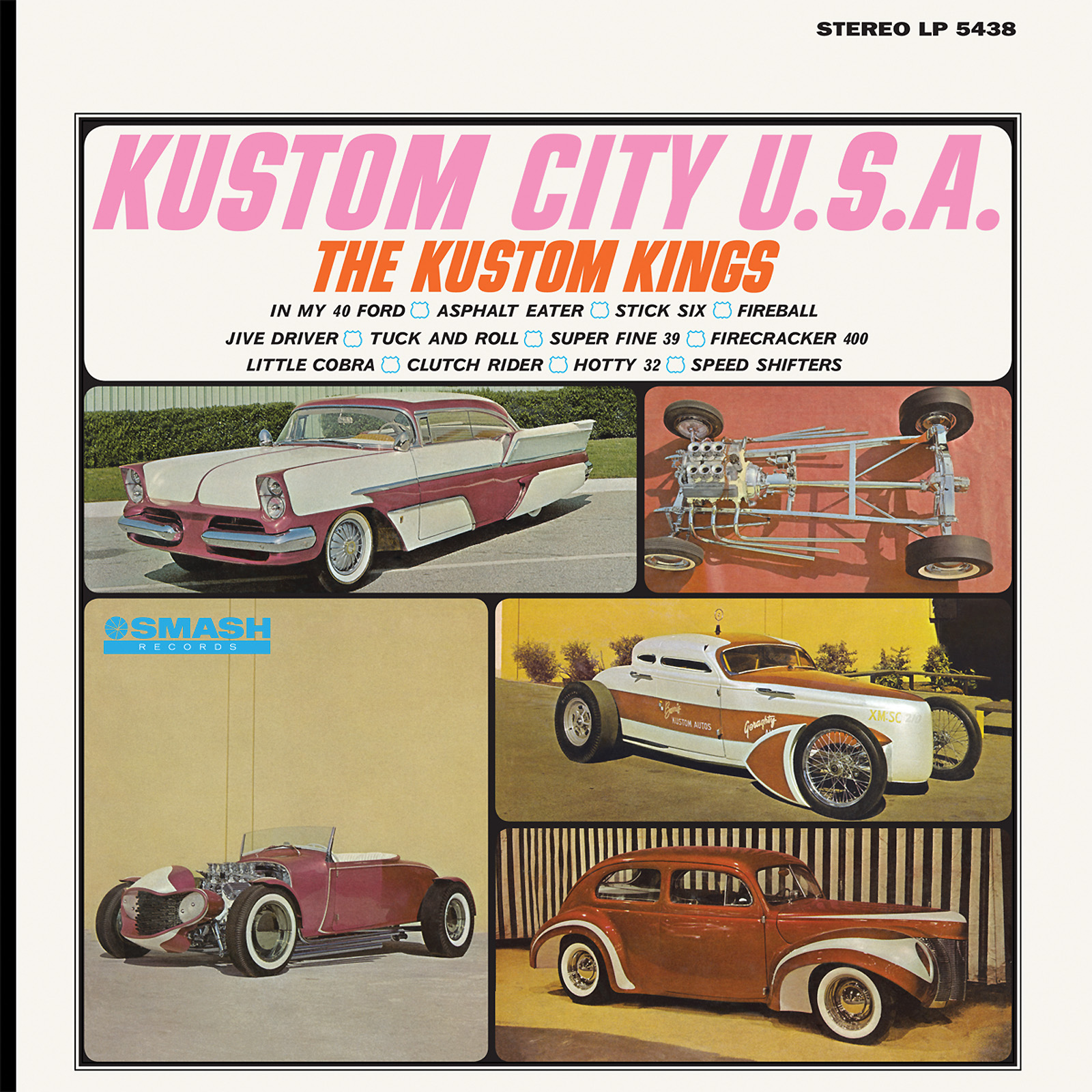 Kustom Kings, The (1964) - Kustom City U.S.A. LP