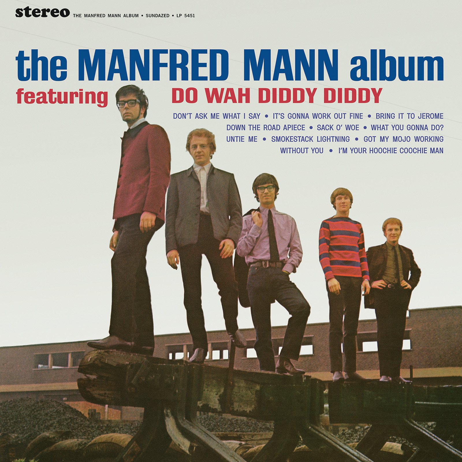 Manfred Mann - The Manfred Mann Album LP