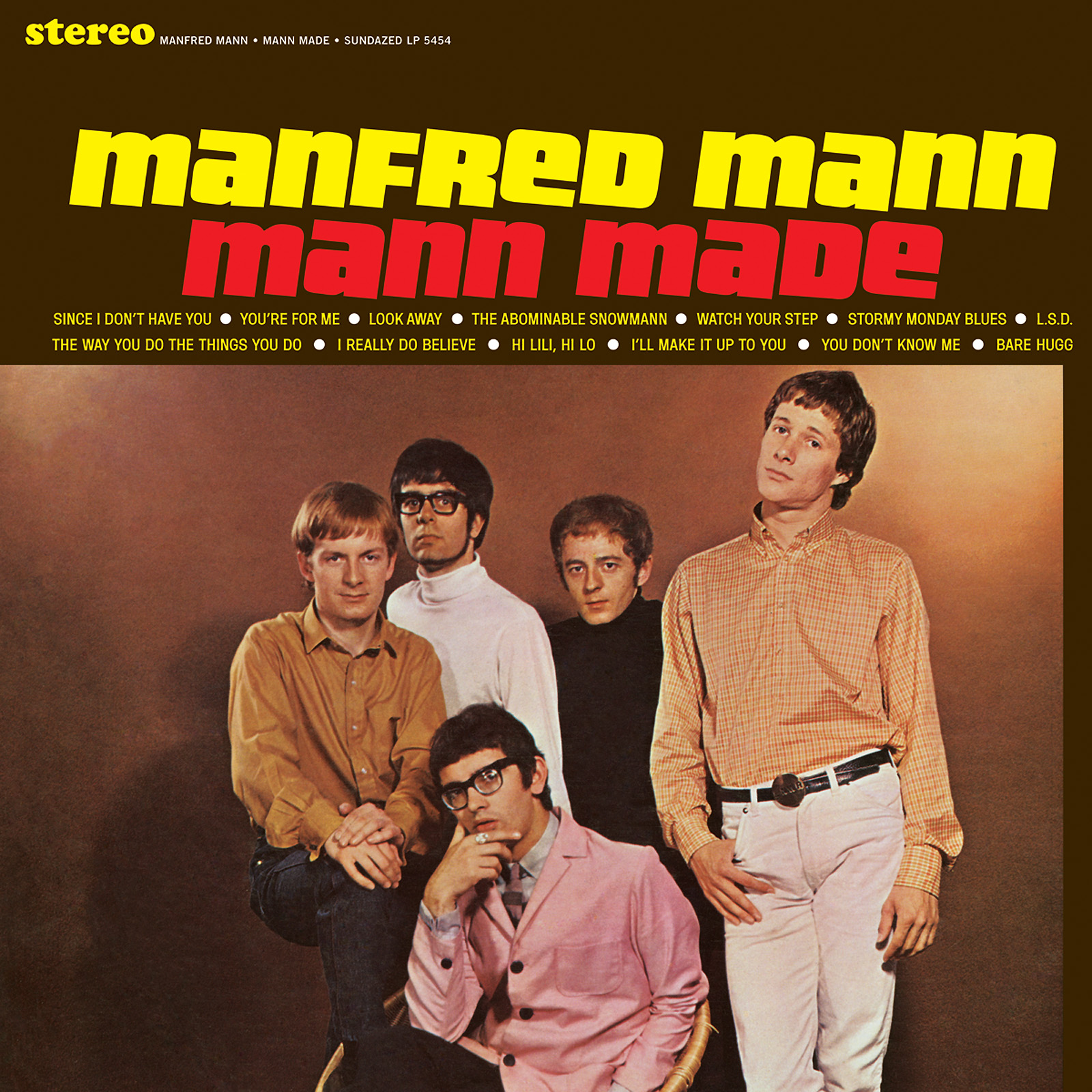 Manfred Mann - Mann Made LP