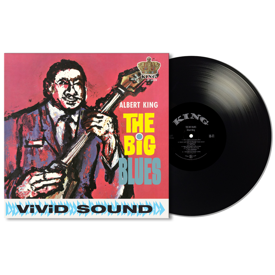 King, Albert - The Big Blues LP