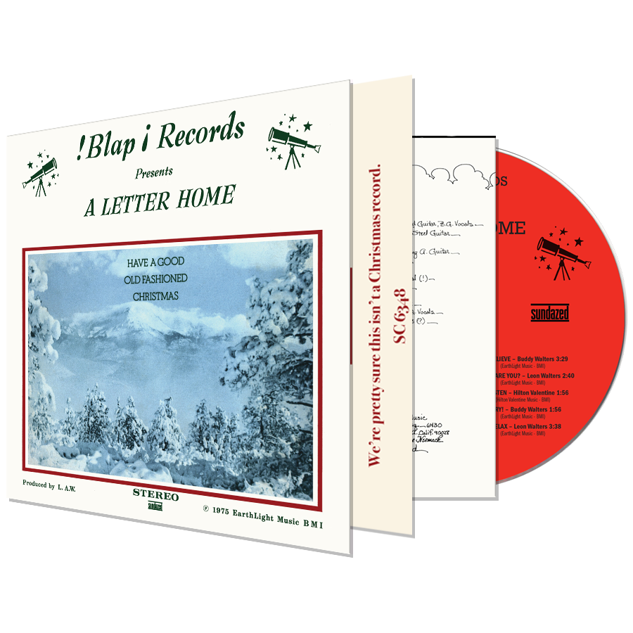 A Letter Home - Have A Good Old Fashioned Christmas - CD