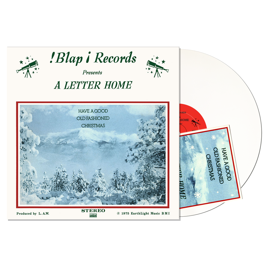 A Letter Home - Have A Good Old Fashioned Christmas - White Vinyl LP