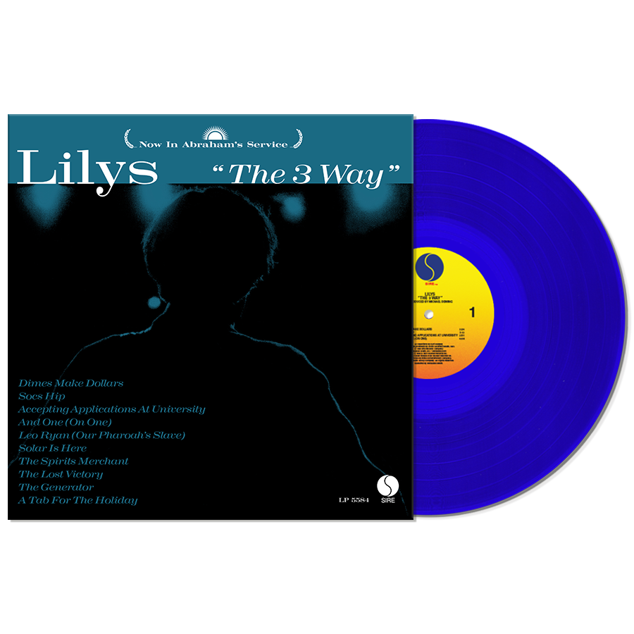 Lilys - The 3 Way - Blue Vinyl LP - Rough Trade Exclusive