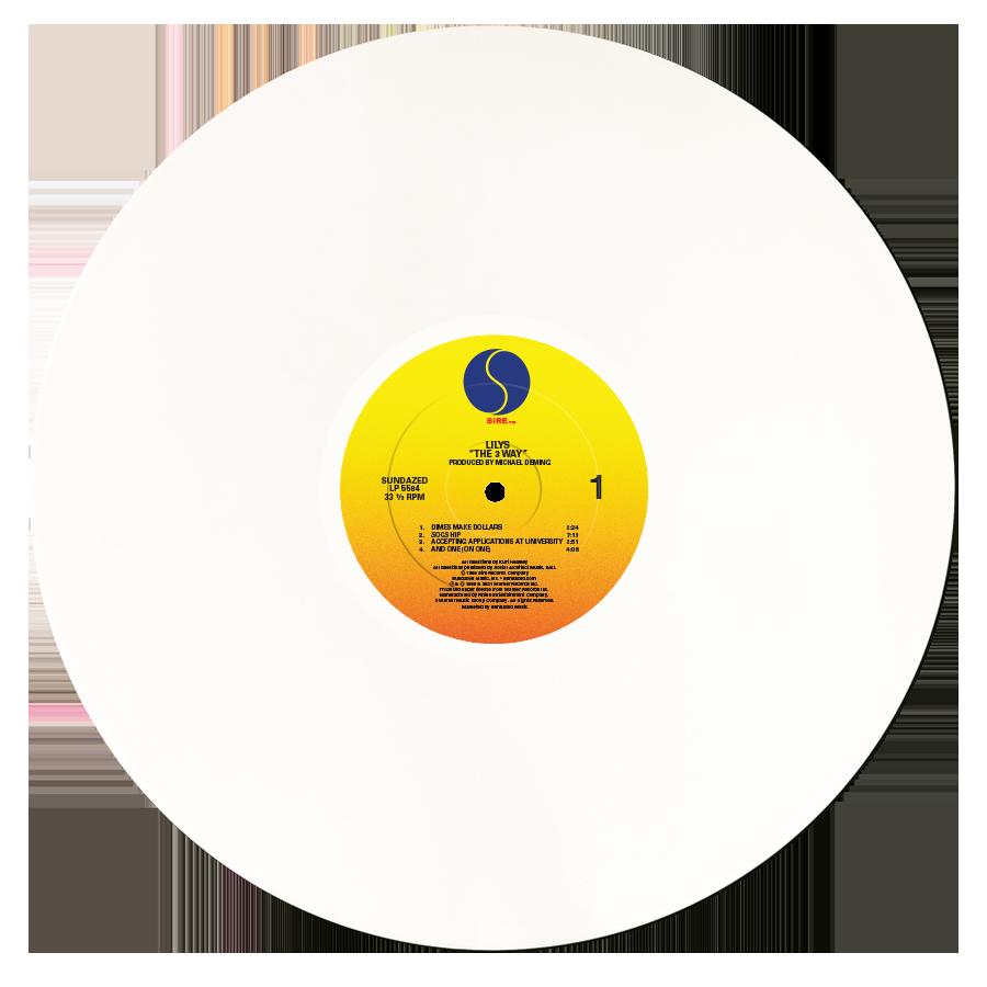 Lilys - The 3 Way - White Vinyl LP - Rough Trade Exclusive - LP-SUND-5584RT2