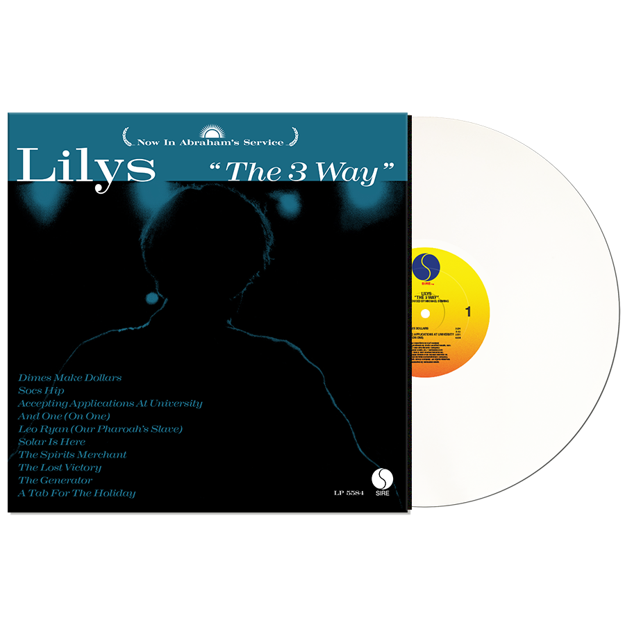 Lilys - The 3 Way - White Vinyl LP - Rough Trade Exclusive