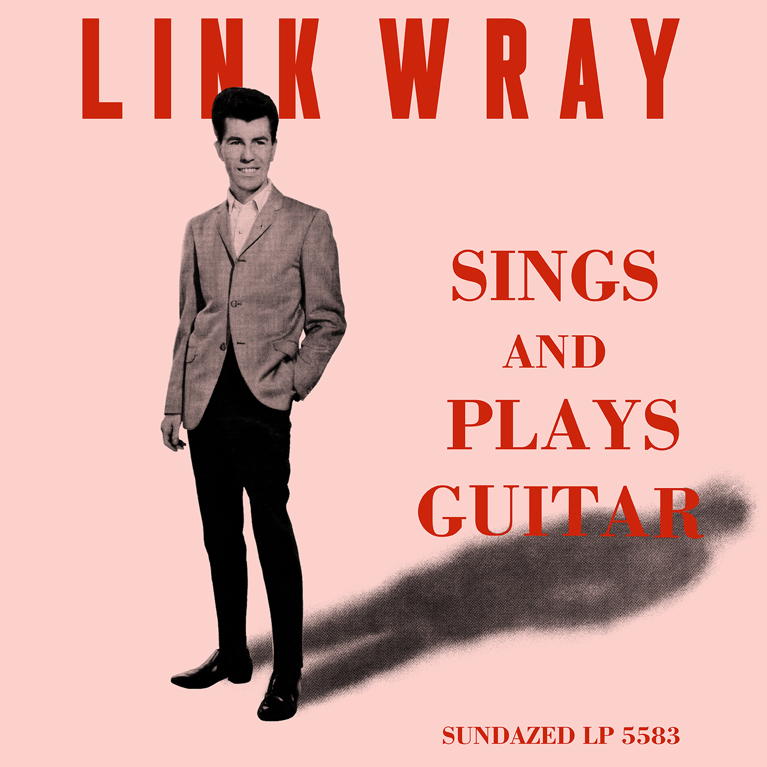 Link Wray - Link Wray Sings And Plays Guitar - Clear Vinyl LP - LP-SUND-5583