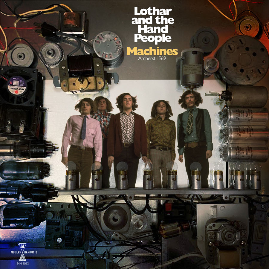 Lothar And The Hand People - Machines: Amherst 1969 - LP - LP-MH-8053