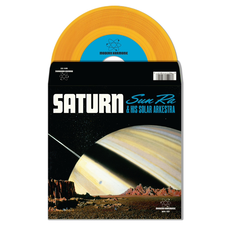 "Sun Ra - Saturn / Mystery Mr. Ra - 7"" Single - MH-101"