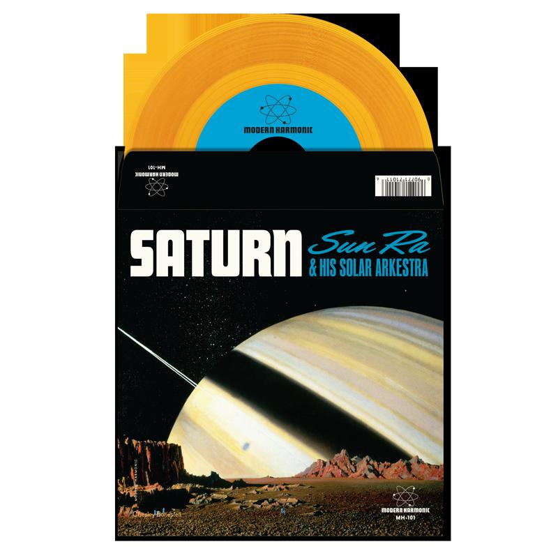 """Sun Ra - Saturn / Mystery Mr. Ra - 7"""" Single - MH-101"""
