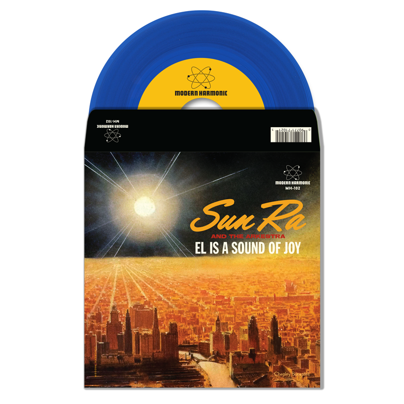"Sun Ra - El Is A Sound Of Joy / Black Sky And Blue Moon - 7"" Single - MH-102"