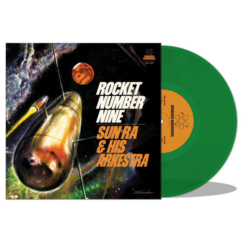 "Sun Ra - Rocket Number Nine - 10"" EP - MH-10-104"
