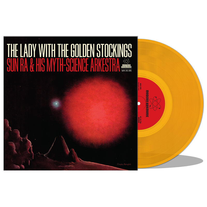 "Sun Ra - Lady With The Golden Stockings - 10"" EP - MH-10-105"