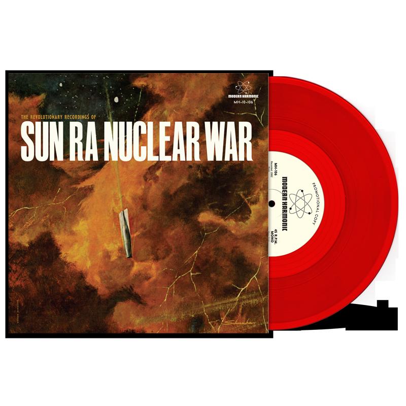 """Sun Ra - Nuclear War - 10"""" EP - MH-10-106"""