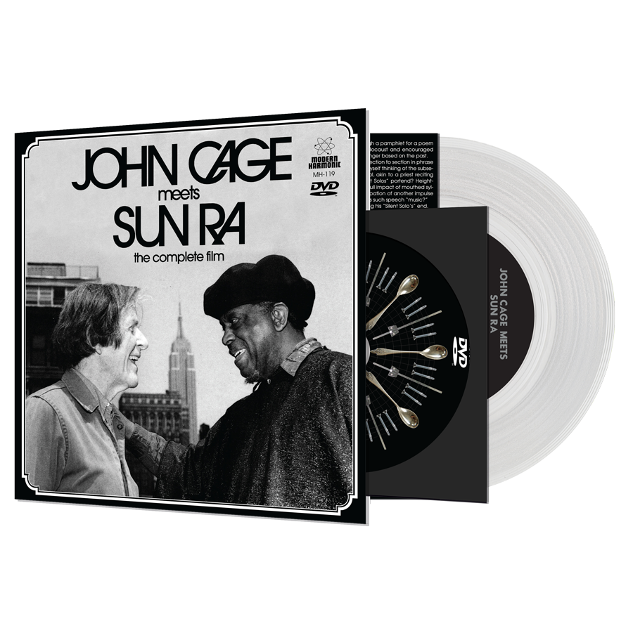 "Cage, John & Sun Ra - John Cage Meets Sun Ra: The Complete Film - DVD + 7"" Single"