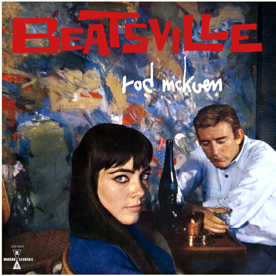 Rod McKuen - Beatsville - LP - Red Vinyl - MH-8003