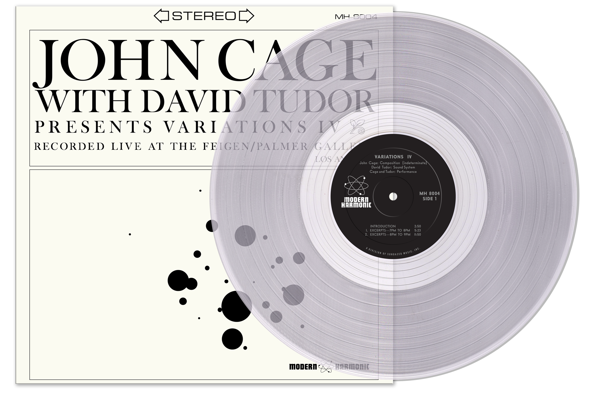 Cage, John With David Tudor - Variations IV - LP