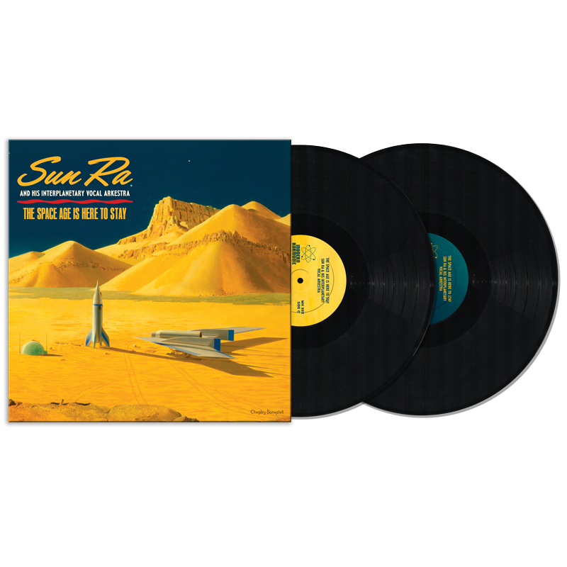 Sun Ra - The Space Age Is Here To Stay - 2-LP