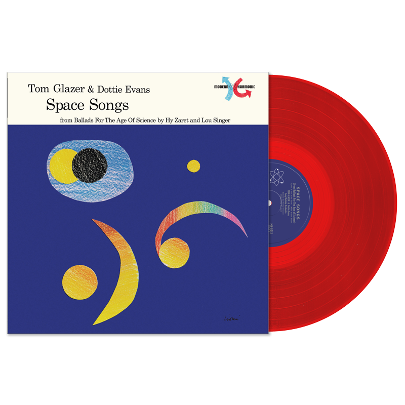 Glazer, Tom & Dottie Evans - Space Songs - LP
