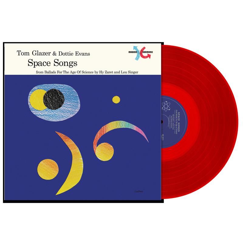Glazer, Tom & Dottie Evans - Space Songs - LP - MH-8013