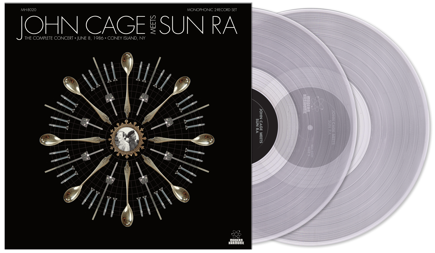 Cage, John Meets Sun Ra - The Complete Concert - Clear Vinyl 2-LP