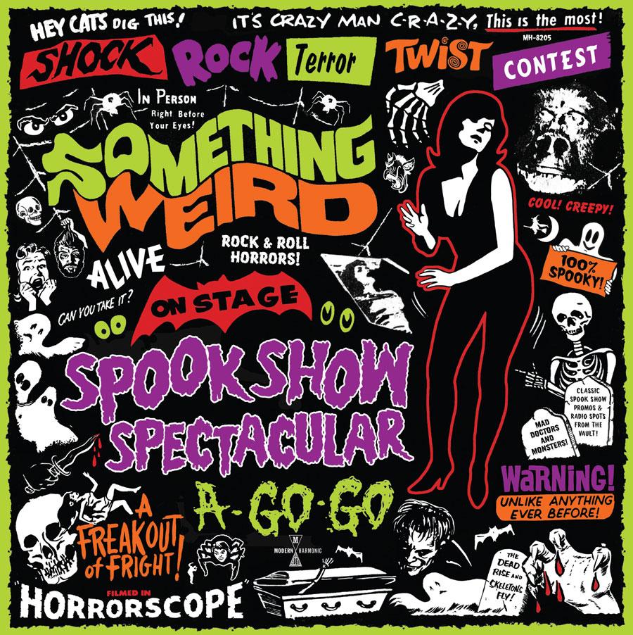 Something Weird - Spook Show Spectacular A-Go-Go - Green Vinyl + DVD - LP-MH-8205X