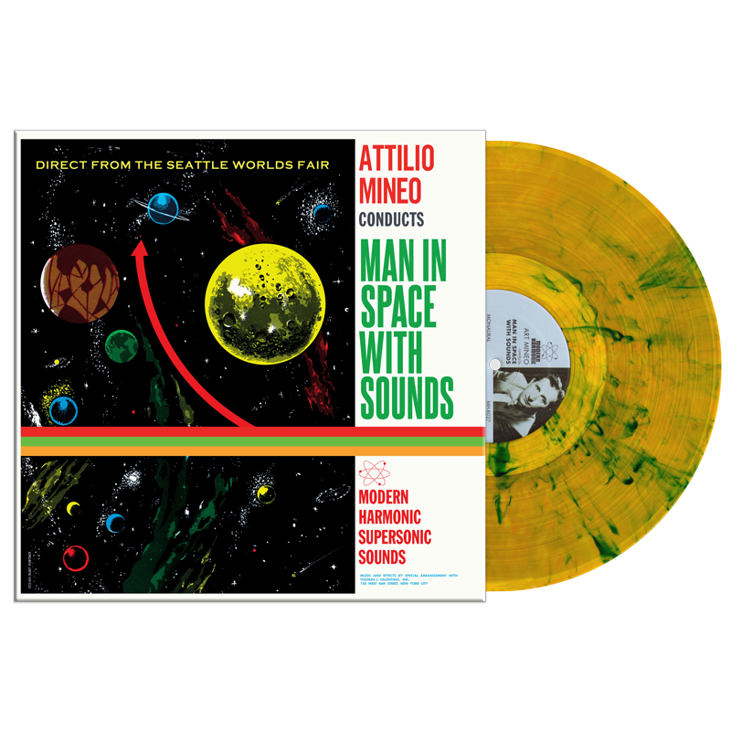 Mineo, Attilio - Man In Space With Sounds - LP