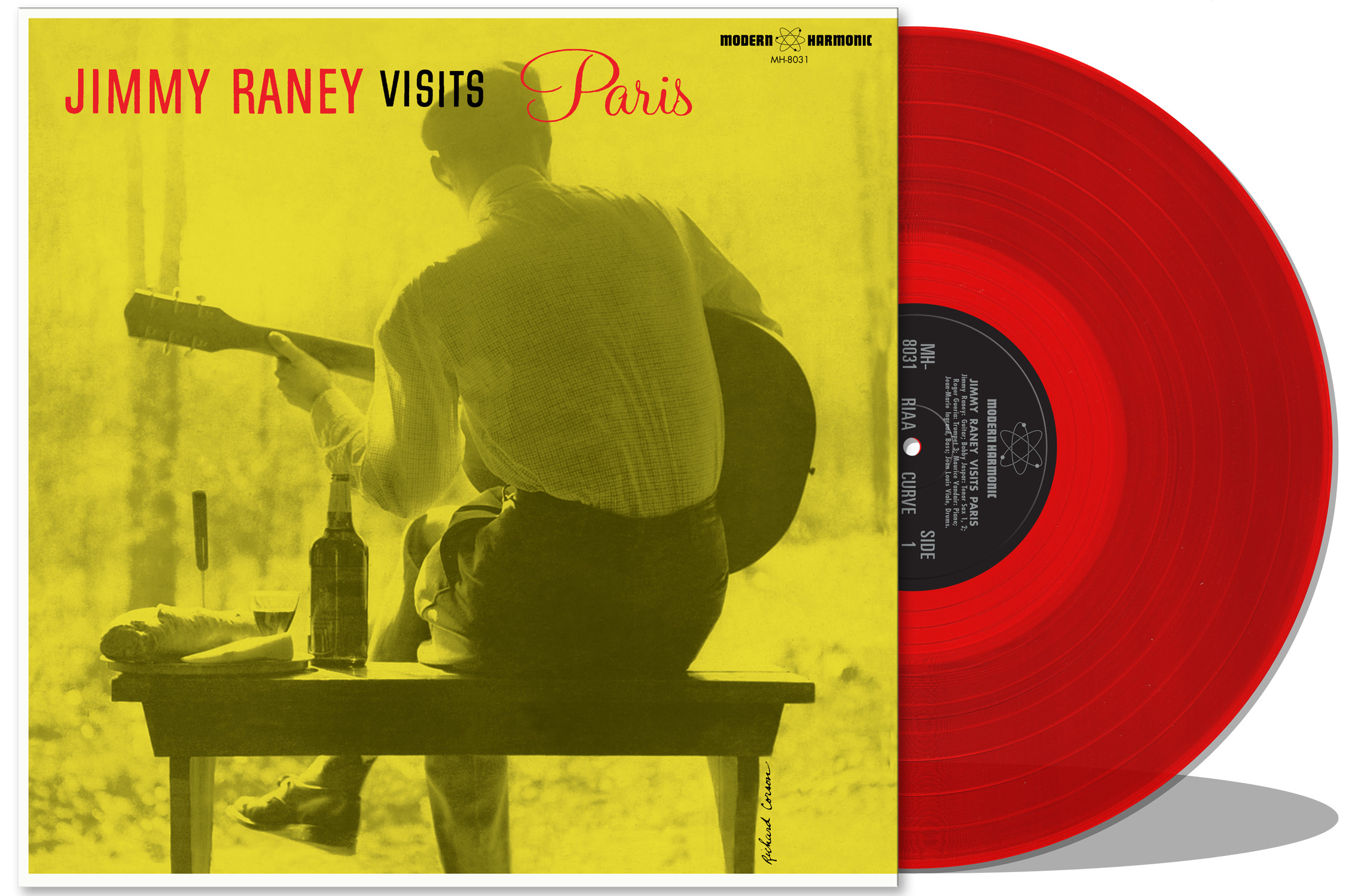 Raney, Jimmy - Visits Paris - LP