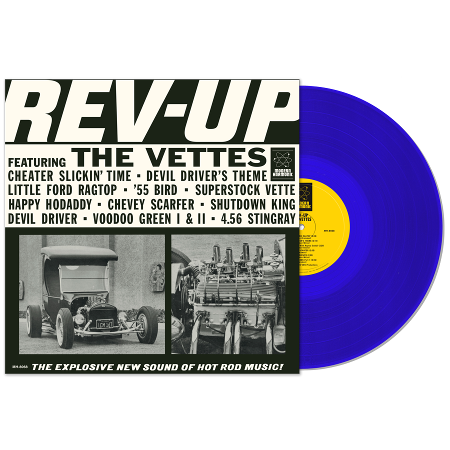 Vettes, The - Rev-Up! - LP
