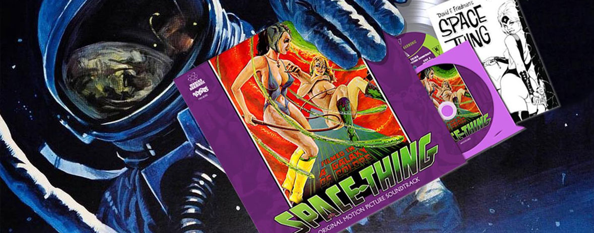 Space Thing Original Motion Picture Soundtrack Plus DVD
